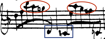 Example 3a: Bach's original
