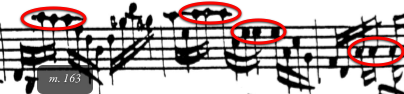 Example 5a: Bach's original
