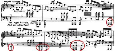 Example 5b: Busoni's score